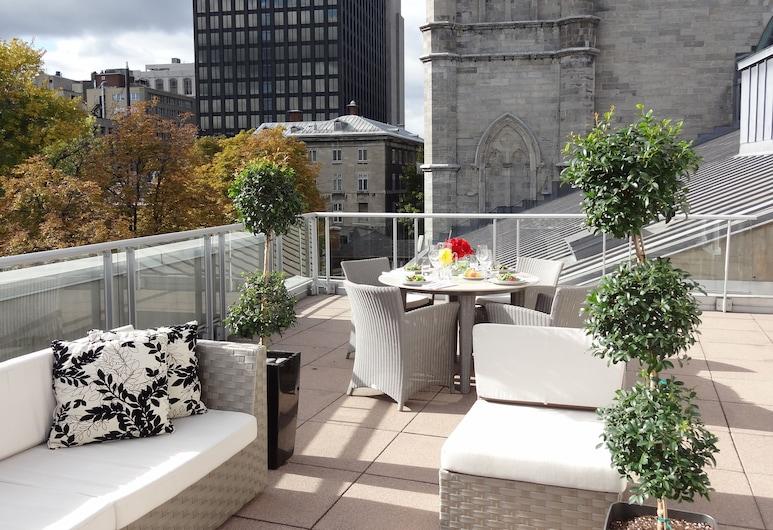 Le Saint Sulpice, Montreal, Suite, 1 cama King size, terraza (Signature Suite with Rooftop Terrace), Habitación