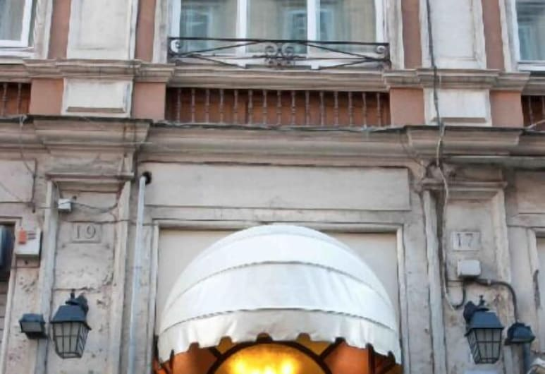 Hotel Rimini, Roma, Hotellinngang