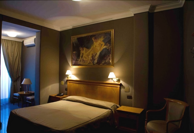Hotel Rimini, Rome, Double Room, Guest Room