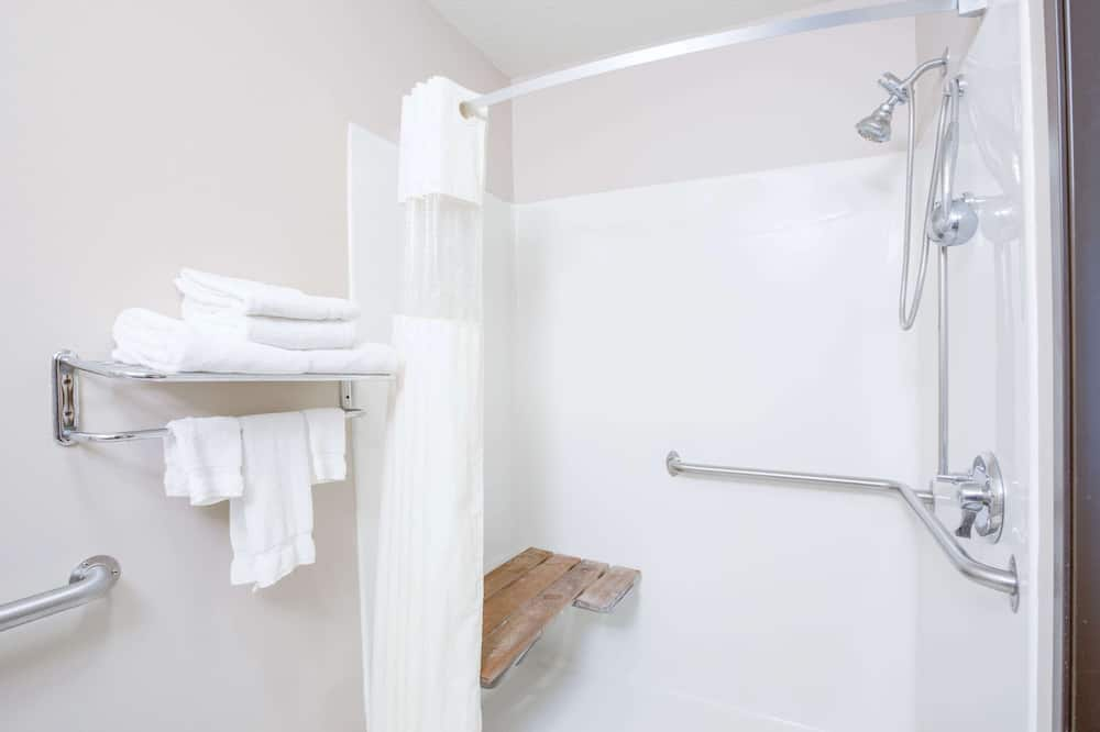 Room, 1 Queen Bed, Accessible, Non Smoking (Mobility Accessible) - Bathroom