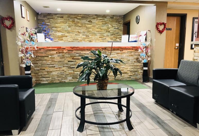Boarders Inn & Suites by Cobblestone Hotels – Columbus, Columbus, Recepcja