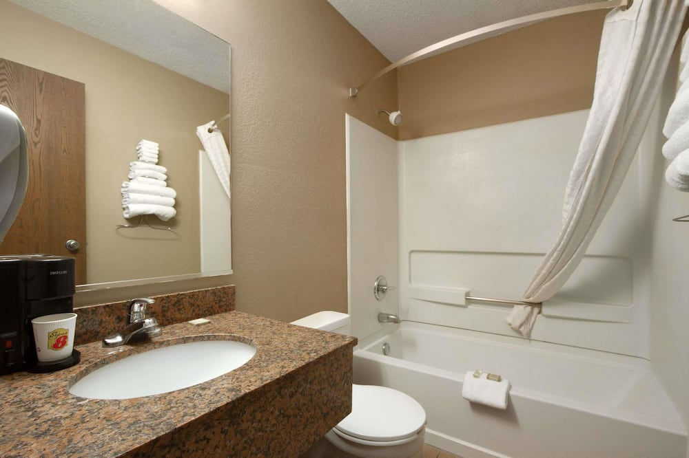 Standaard kamer, 1 kingsize bed - Badkamer
