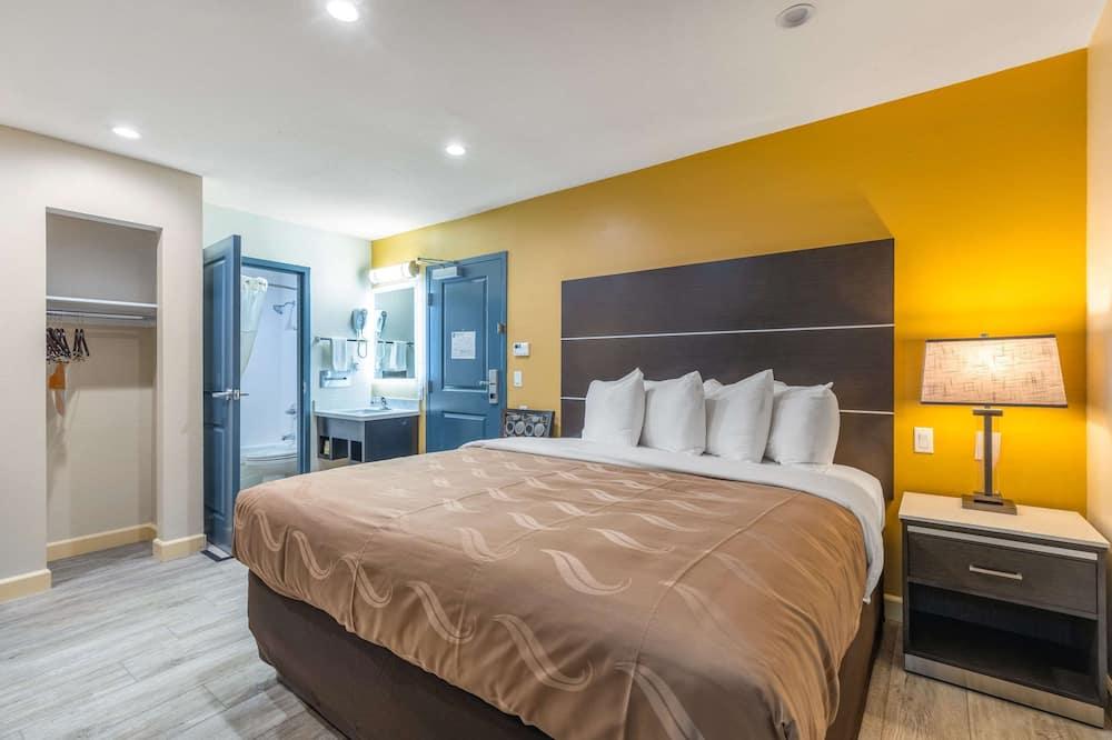 غرفة عادية - سرير ملكي - لغير المدخنين - غرفة نزلاء