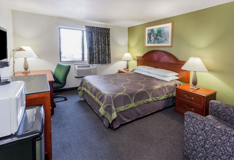 Super 8 by Wyndham Merrillville, Merrillville, Habitación, 1 cama Queen size, Habitación
