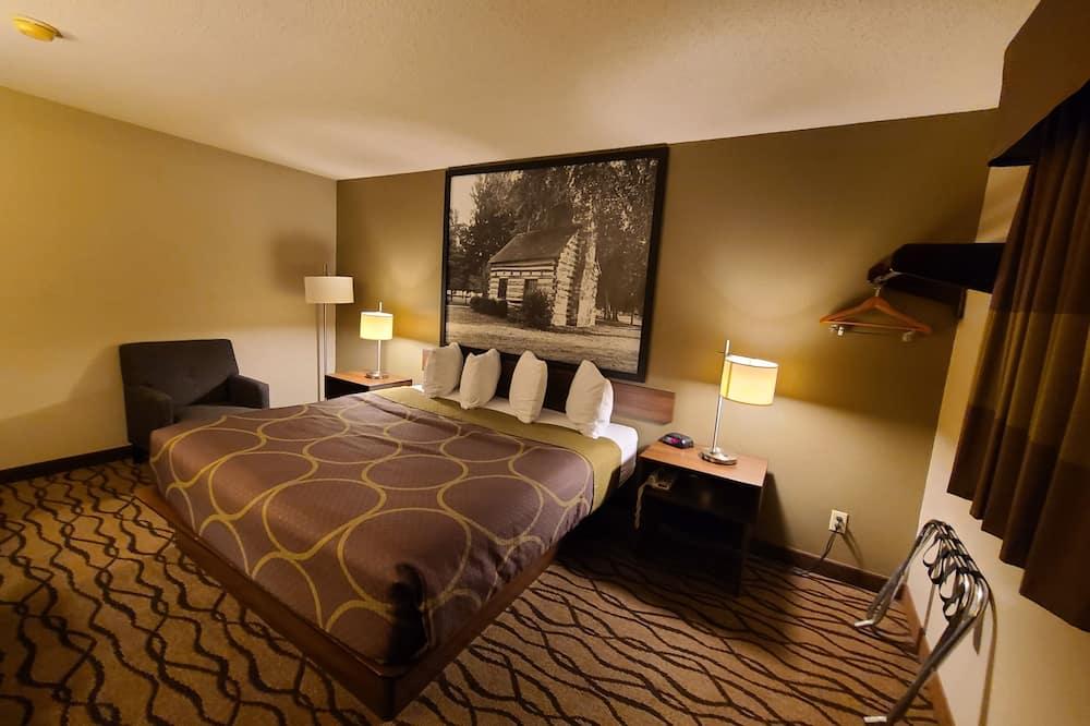 غرفة - سرير ملكي - لغير المدخنين - غرفة نزلاء