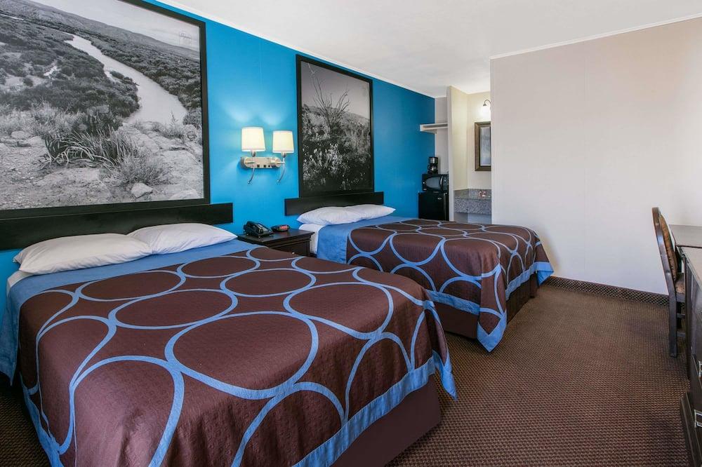 雙人房, 2 張標準雙人床, 吸煙房 - 客房