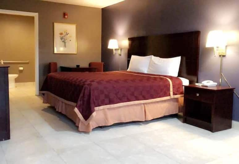 Majestic Inn, Longview, Szoba, 1 king (extra méretű) franciaágy, mozgássérültek számára is hozzáférhető, Vendégszoba