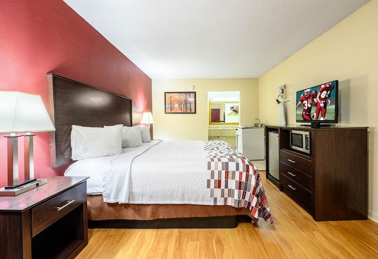 Red Roof Inn Sylacauga, Sylacauga, Habitación Deluxe, 1 cama King size, para fumadores, cocina básica, Habitación