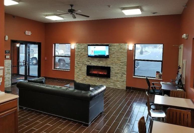 Super 8 by Wyndham Bellefontaine, Bellefontaine, Entrada interior