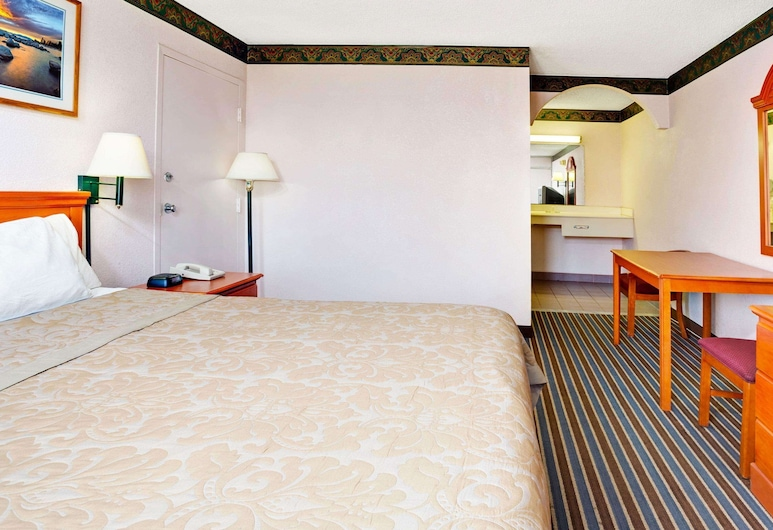 Magnuson Hotel Jacksonville Downtown, Jacksonville, Pokoj, dvojlůžko (200 cm), kuřácký, lednička a mikrovlnná trouba, Pokoj
