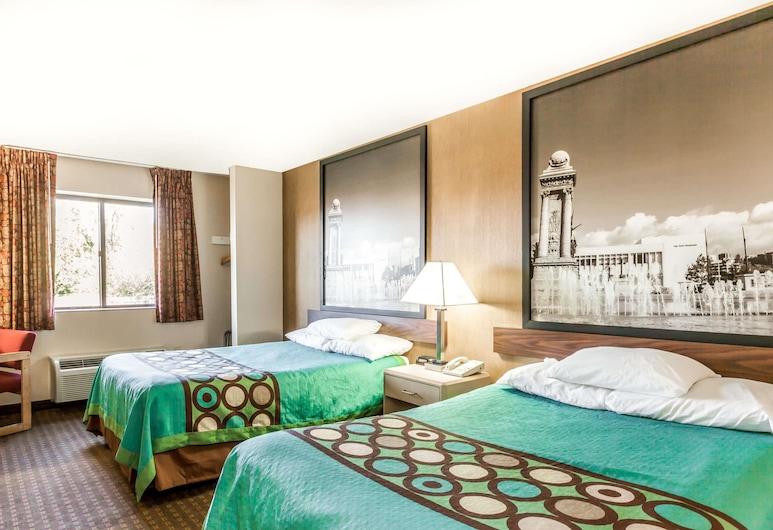 Super 8 by Wyndham Liverpool/Clay/Syracuse Area, Liverpool, Habitación doble, 2 camas dobles, Habitación