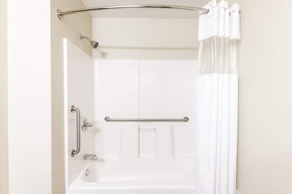 Studiosuite, 2Doppelbetten, Nichtraucher - Badezimmer