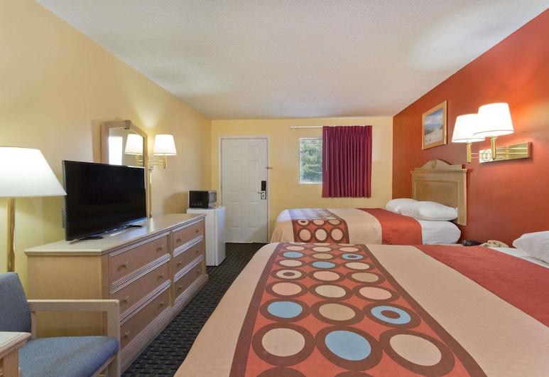Super 8 by Wyndham Chipley, Chipley, Pokój, 2 łóżka queen, dla niepalących, Pokój