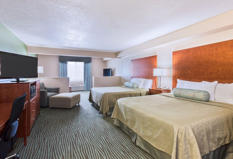 AmericInn by Wyndham Des Moines Airport, Des Moines, Suite, 2 Queen Beds, Non Smoking, Guest Room