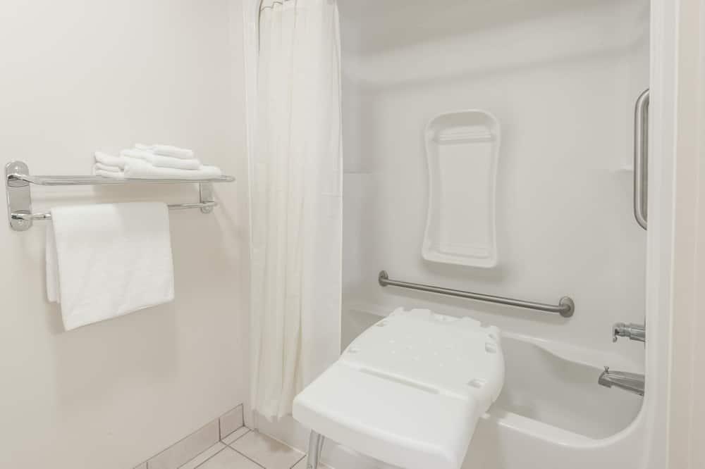 Kamar, 1 Tempat Tidur King, akses difabel, non-smoking - Kamar mandi
