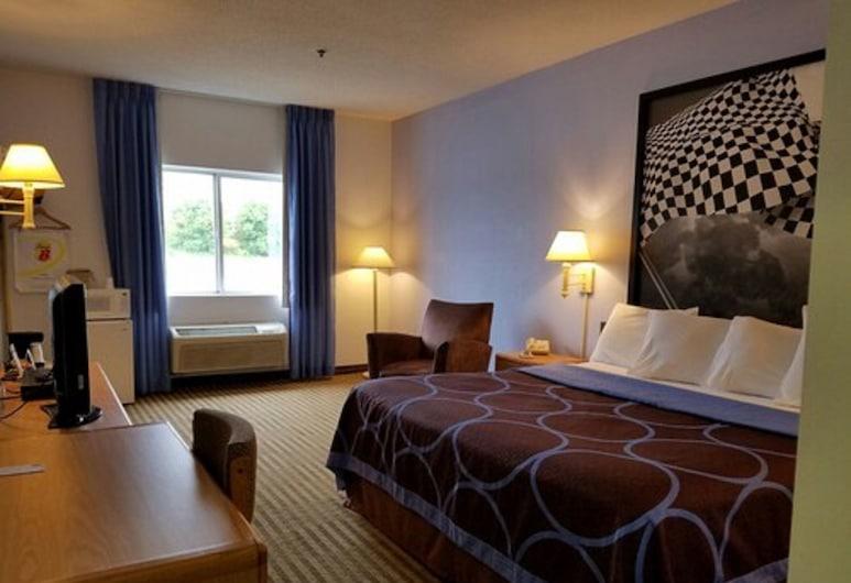 سوبر 8 باي ويندام هنتنغتون, هنتينجتون, غرفة عادية - سرير ملكي, غرفة نزلاء