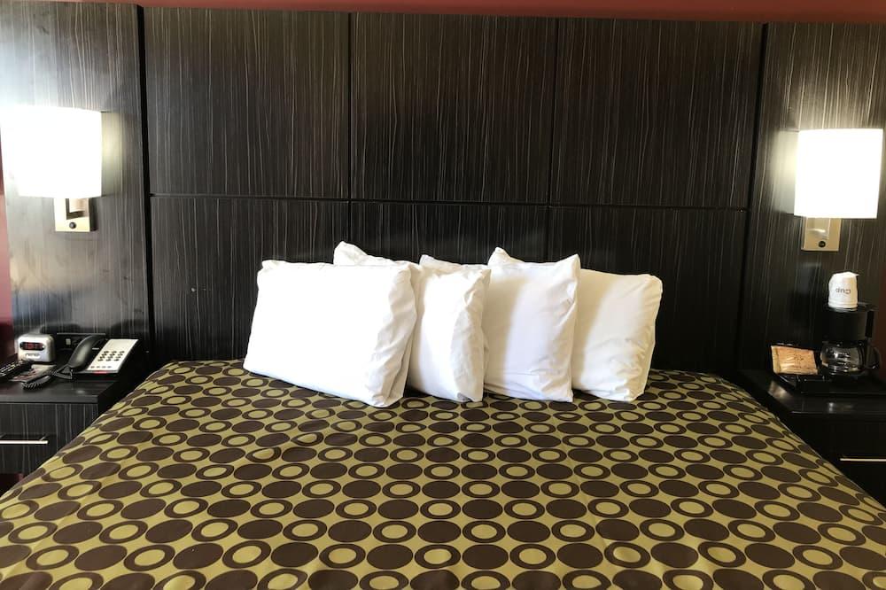 Standard Oda, 1 En Büyük (King) Boy Yatak, Sigara İçilebilir - Oda