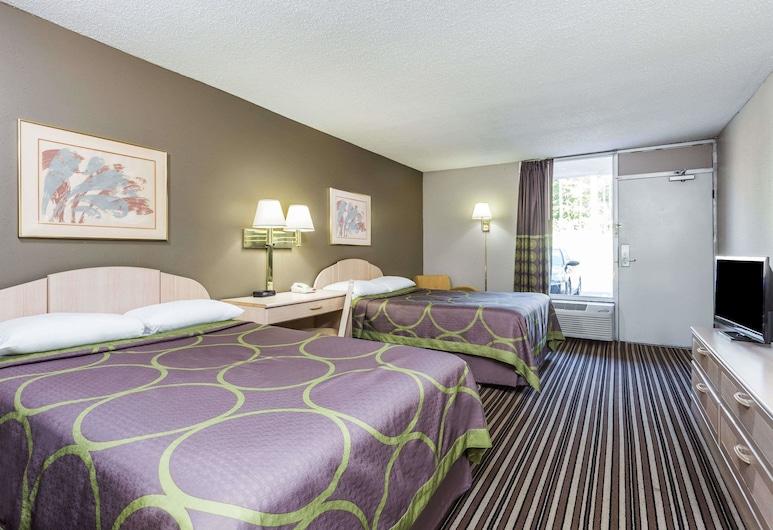Super 8 by Wyndham Commerce, Commerce, Habitación doble, 2 camas dobles, Habitación