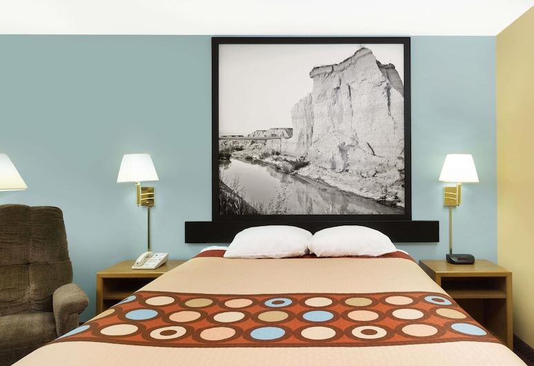 Super 8 by Wyndham Crete, Остров Крит, Номер, 1 двуспальная кровать «Квин-сайз», для людей с ограниченными возможностями, для некурящих, Номер