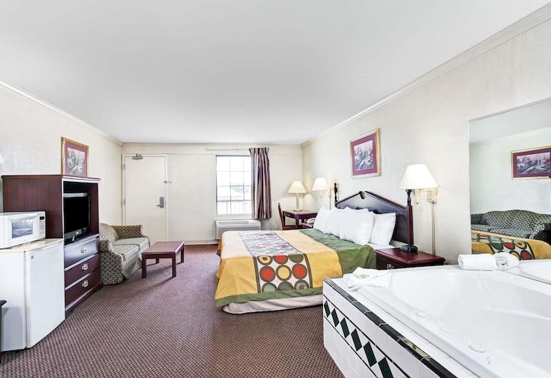 Super 8 by Wyndham Clarksville East, Clarksville, Suite, 1 cama King size, para no fumadores, Habitación