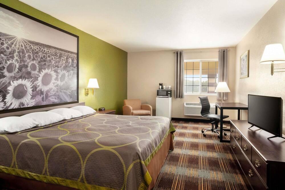 Standartinio tipo kambarys, 1 labai didelė dvigulė lova - Svečių kambarys
