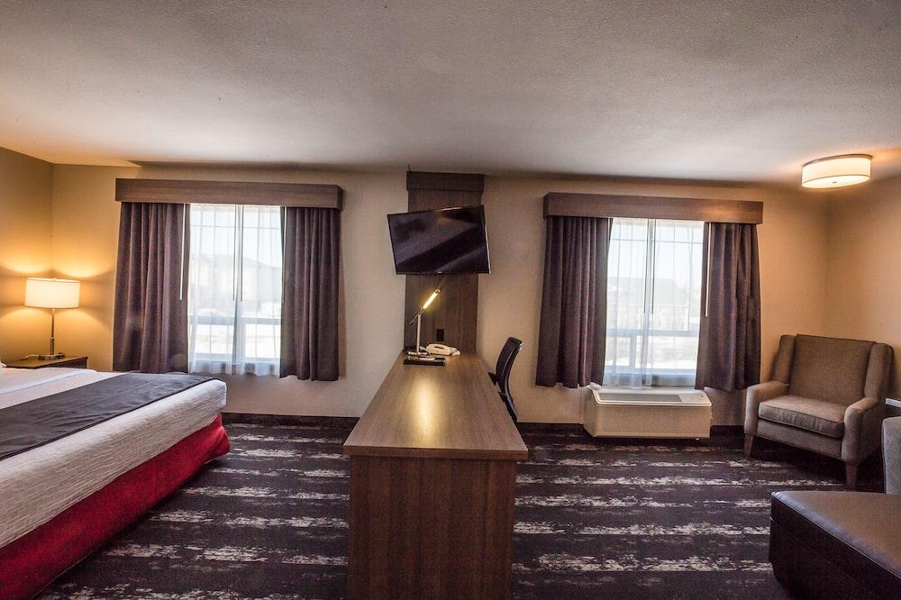 Luksusa numurs, 1 divguļamā karaļa gulta un dīvāngulta, nesmēķētājiem - Dzīvojamā zona