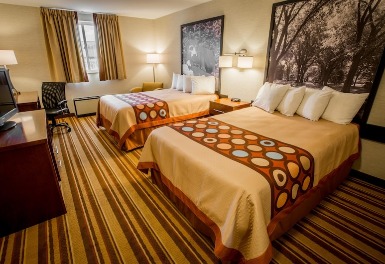 Super 8 by Wyndham State College, State College, Double Room, 2 Double Beds, Guest Room