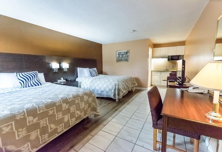 Countryside Inn, Kingston, Zimmer, 2Queen-Betten, Zimmer