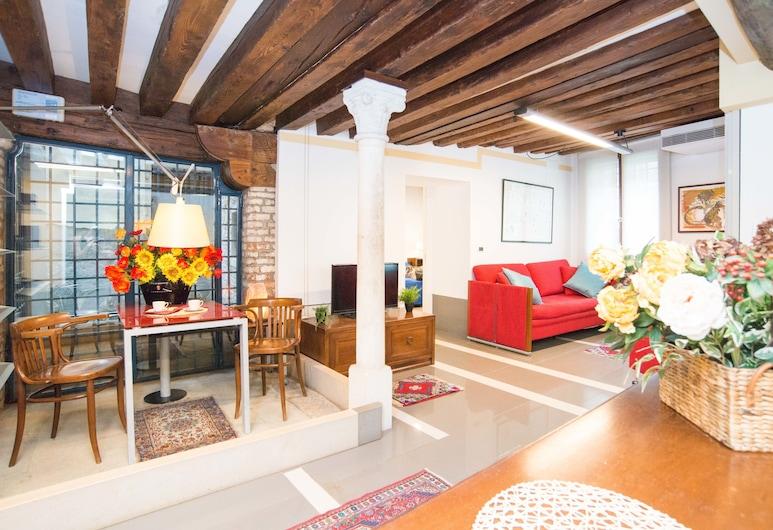 Locanda La Corte, Venedig, Apartment, Kanalblick, Zimmer