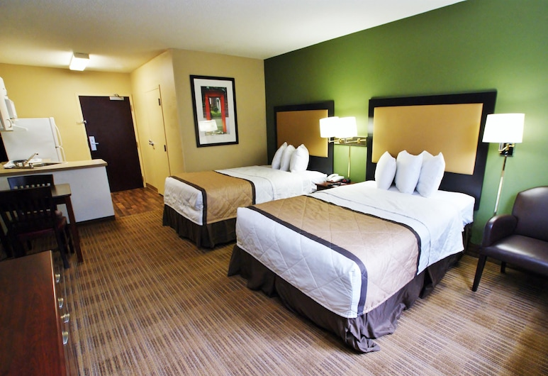 Extended Stay America - South Bend - Mishawaka - North, Mishawaka, Studio, 2 Double Beds, Non Smoking, Guest Room