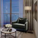 Apartmá typu Deluxe, balkon (Garden) - Obývací pokoj
