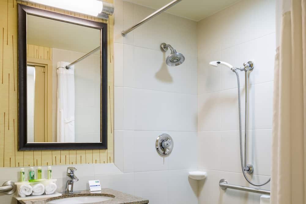 Стандартний номер, 1 ліжко «кінг-сайз», обладнано для інвалідів - Ванна кімната