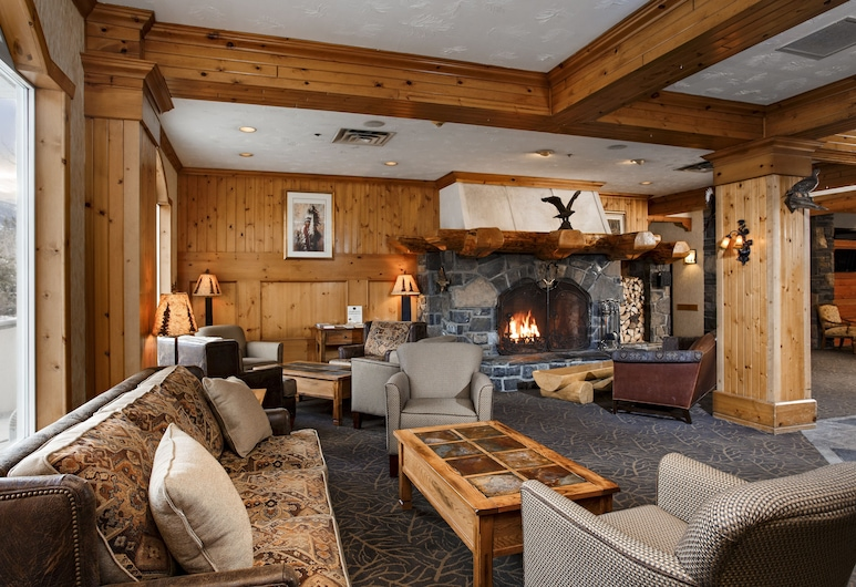 Rundlestone Lodge, Banff, Ruang Duduk Lobi