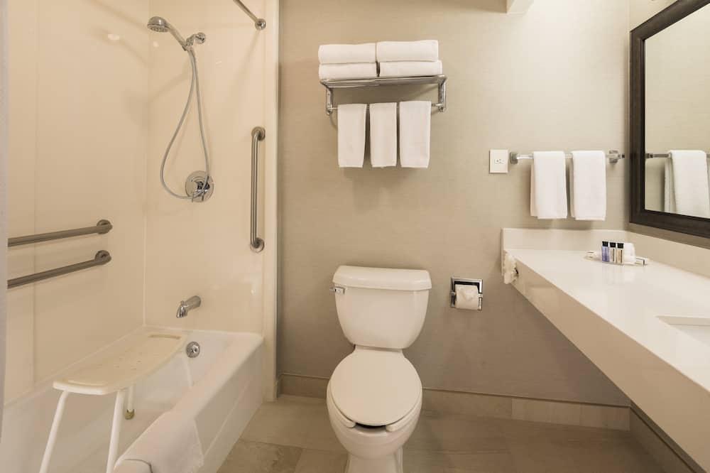 Zimmer, 2Schlafzimmer, barrierefrei, 2 Bäder - Badezimmer