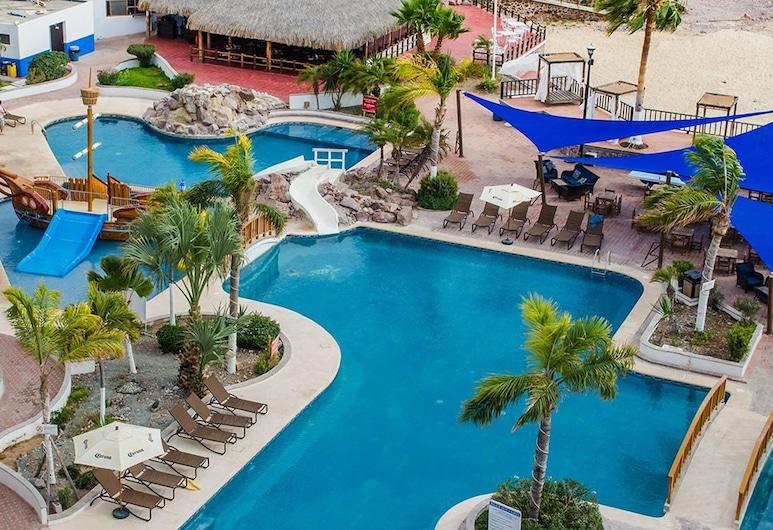 San Carlos Plaza Hotel, Beach & Convention Center, San Carlos, Alberca al aire libre