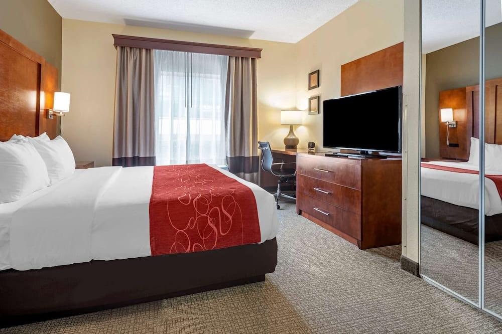 ห้องสวีท, เตียงคิงไซส์ 1 เตียง, พร้อมสิ่งอำนวยความสะดวกสำหรับผู้พิการ, ปลอดบุหรี่ - ห้องพัก