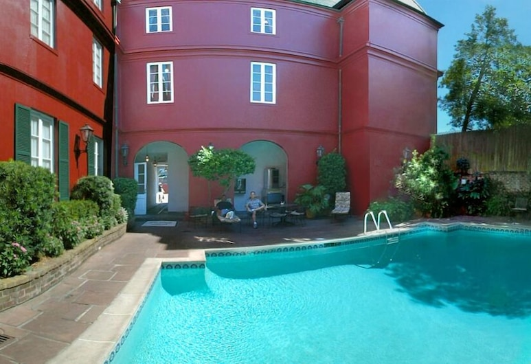 法國區黎塞留酒店, 新奥爾良, 室外泳池