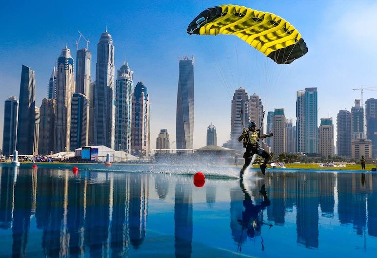Fairmont Dubai, Dubai, Skydiving