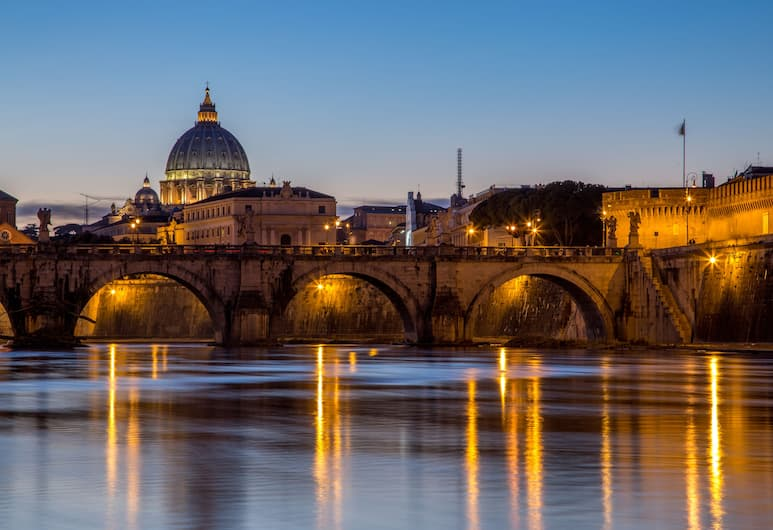 Best Western Hotel Astrid, Rome, Uitzicht vanaf hotel
