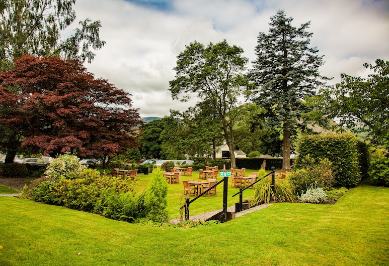 The Swan at Grasmere, Ambleside, Tuin