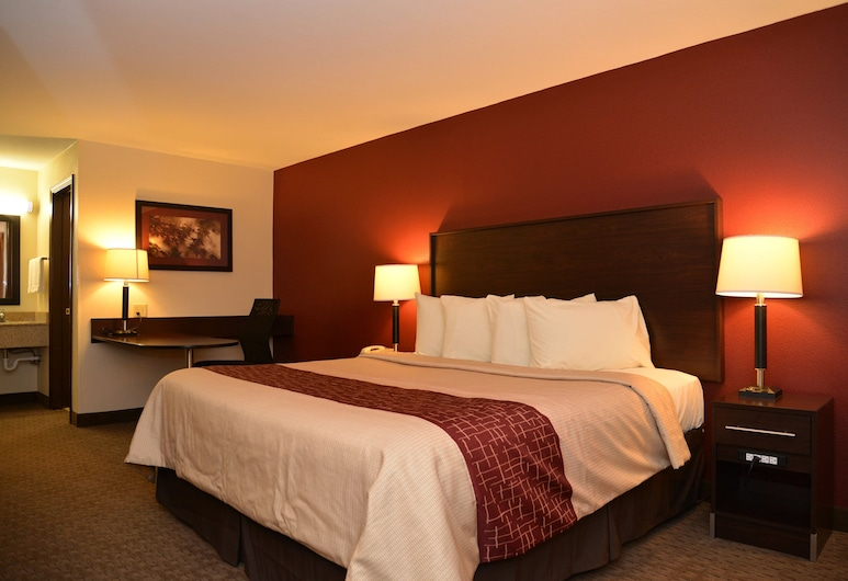 Red Roof Inn Cookeville - Tennessee Tech, Cookeville, Phòng Superior, 1 giường cỡ king, Không hút thuốc, Phòng