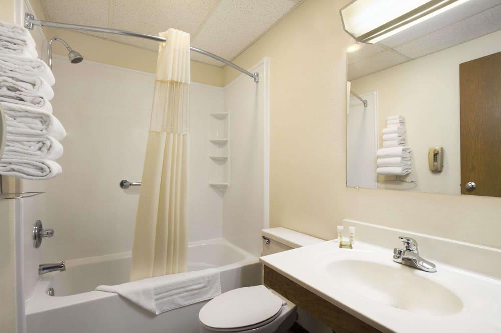 Двомісний номер, 2 двоспальних ліжка - Ванна кімната