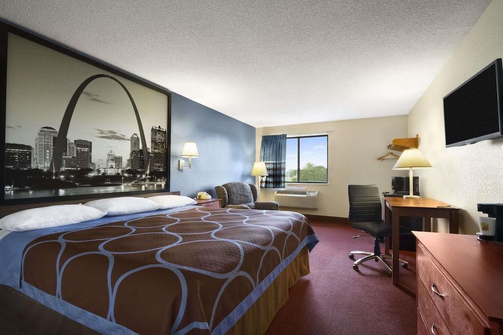 Студія-люкс, 1 ліжко «кінг-сайз», для некурців - Номер