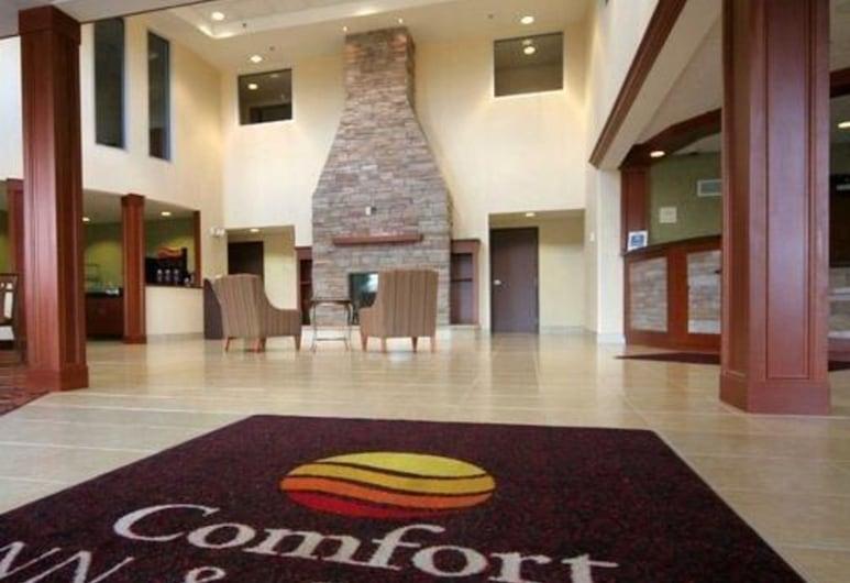 Comfort Inn & Suites, Saratoga Springs, Lobby