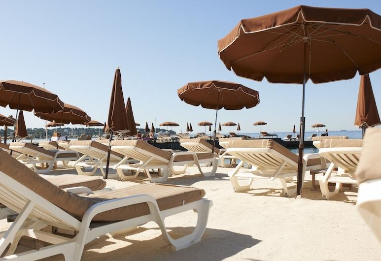 Hotel Helios, Antibes, Strand