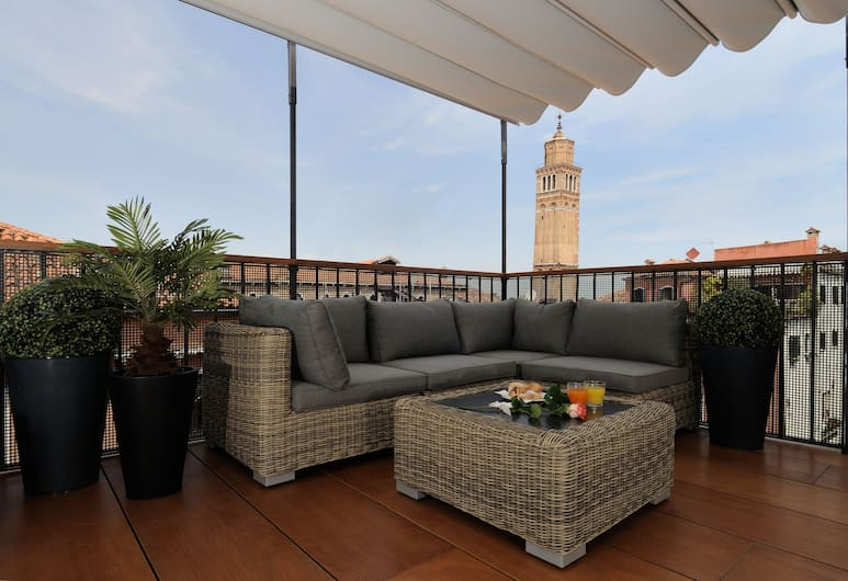 Hotel Ala (Adults Recom'd), Venezia, Terrasse/veranda