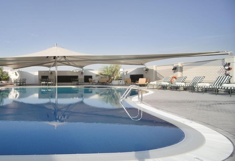 뫼벤픽 호텔 & 아파트먼트 버르 두바이, 두바이, 야외 수영장