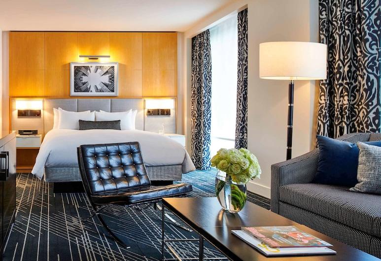 ソフィテル シカゴ マグニフィセント マイル, シカゴ, ジュニア スイート キングベッド 1 台ソファーベッド付き, 部屋
