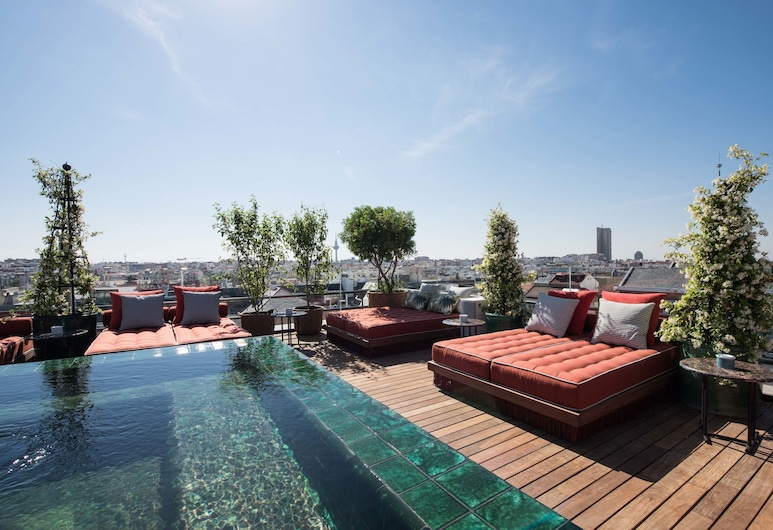 Bless Hotel Madrid, a member of The Leading Hotels of the World, Madrid, Piscine sur le toit