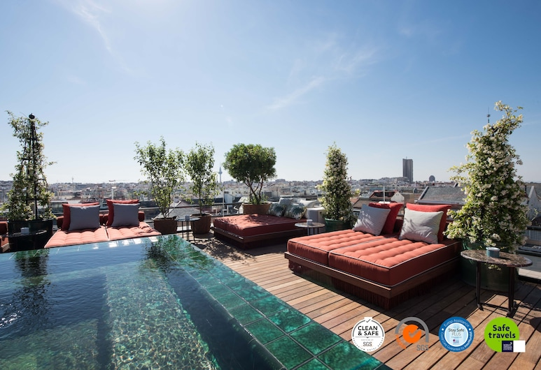Bless Hotel Madrid, a member of The Leading Hotels of the World, Madrid, Rooftop Pool